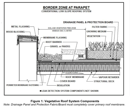 Tp Section 11 Vegetated Green Roof Systems Arca